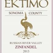 感恩酒庄俄罗斯河谷仙粉黛干红葡萄酒(Ektimo Vineyards Zinfandel, Russian River Valley, USA)