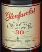 格兰花格30年苏格兰单一麦芽威士忌(Glenfarclas Aged 30 Years Highland Single Malt Scotch Whisky, Speyside, UK)