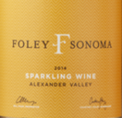 弗利索诺玛起泡酒(Foley Sonoma Sparkling Wine,Alexander Valley,USA)
