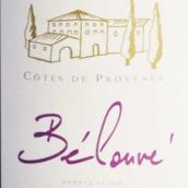 碧娜酒庄比露夫系列红葡萄酒(Domaines Bunan Belouve Red,Cotes De Provence,France)