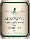 慕丝森林赛美蓉干白葡萄酒(橡木桶珍藏)(Moss Wood Wood Matured Semillon,Margaret River,Australia)