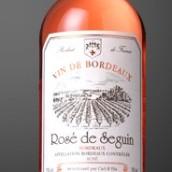 塞甘堡桃红葡萄酒(Chateau de Seguin Rose de Seguin,Bordeaux,France)
