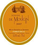 慕然庄园红葡萄酒(Domaine du Mougin,France)