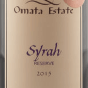 奥玛特珍藏西拉干红葡萄酒(Omata Estate Reserve Syrah, Russell, New Zealand)