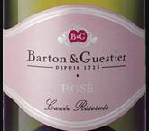 巴顿嘉斯蒂桃红起泡酒(Barton & Guestier Sparkling Rose, Bordeaux, France)
