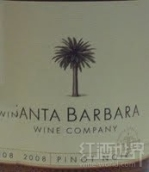 圣巴巴拉美酒集黑皮诺干红葡萄酒(Santa Barbara Wine Collection Pinot Noir,Santa Barbara ...)
