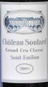 苏塔酒庄红葡萄酒(Chateau Soutard,Saint-Emilion Grand Cru Classe,France)