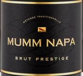 玛姆纳帕高级起泡酒(Mumm Napa Brut Prestige, Napa Valley, USA)