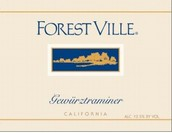 福雷斯特维尔琼瑶浆白葡萄酒(ForestVille Gewurztraminer,California,USA)