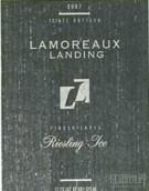 拉莫罗·兰丁雷司令冰白葡萄酒(Lamoreaux Landing Riesling Ice Wine,Finger Lakes,USA)