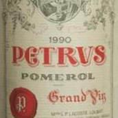 柏图斯酒庄红葡萄酒(Petrus, Pomerol, France)