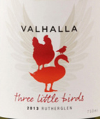 瓦尔哈拉三只小鸟干白葡萄酒(Valhalla Wines Three Little Birds,Rutherglen,Australia)