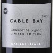 凯伯湾限量赤霞珠干红葡萄酒(Cable Bay Limited Edition Cabernet Sauvignon,Waiheke Island,...)