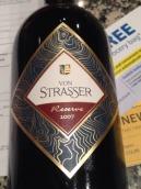 冯斯特拉斯钻石山珍藏干红葡萄酒(Von Strasser Reserve Red,Diamond Mountain District,USA)