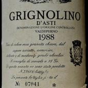嘉科萨格丽尼奥里诺干红葡萄酒(Bruno Giacosa Grignolino d'Asti,Piedmont,Italy)