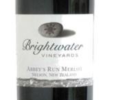 明水阿比梅洛干红葡萄酒(Brightwater Vineyards Abbey's Run Merlot,Nelson,New Zealand)