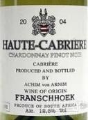 上加布里埃尔霞多丽-黑皮诺干白葡萄酒(Haute Cabriere Chardonnay - Pinot Noir White, Franschhoek Valley, South Africa)