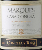 干露侯爵佳美娜干红葡萄酒(Concha y Toro Marques de Casa Concha Carmenere,Peumo,Chile)