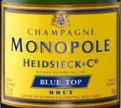 海德雪克蓝顶极干型香槟(Champagne Heidsieck & Co Monopole Blue Top Brut, Champagne, France)
