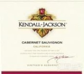 肯德-杰克逊酿酒师珍藏赤霞珠干红葡萄酒(Kendall Jackson Vintner's Reserve Cabernet Sauvignon, California, USA)
