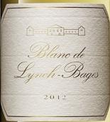 靓茨伯庄园白葡萄酒(Blanc de Lynch-Bages, Bordeaux, France)