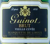吉诺老藤特酿利慕布朗克特起泡酒(Maison Guinot Vieille Cuvee,Blanquette de Limoux,France)