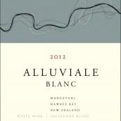 阿鲁维乐长相思赛美蓉混酿干白葡萄酒(Alluviale Blanc,Hawkes Bay,New Zealand)
