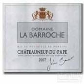 巴罗什教皇新堡至纯干红葡萄酒(Domaine La Barroche Chateauneuf-du-Pape Pure,Rhone,France)