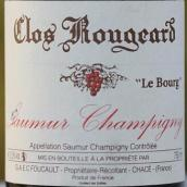 红雅酒庄索米尔-尚皮尼布尔园干红葡萄酒(Clos Rougeard Saumur-Champigny Le Bourg,Loire Valley,France)