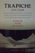 翠帝木桶陈酿西拉干红葡萄酒(Trapiche Oak Cask Syrah, Mendoza, Argentina)
