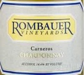 伦巴尔卡尼洛谷霞多丽(Rombauer Vineyards Chardonnay, Carneros, USA)