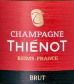 帝龙干型香槟(Champagne Thienot Brut, Champagne, France)