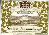 约翰山雷司令枯萄精选甜白葡萄酒(Schloss Johannisberg Riesling Beerenauslese, Rheingau, Germany)