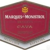 曼尼斯特洛精选卡瓦起泡酒(Marques de Monistrol Seleccion Especial Brut Cava,Catalonia,...)