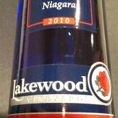 莱克伍德尼亚加拉甜白葡萄酒(Lakewood Vineyards Niagara,Finger Lakes,USA)