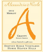 尼科尔梅洛干红葡萄酒(Alexandria Nicole Cellars Merlot,Washington,America)