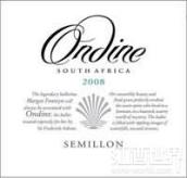 奥丁赛美蓉干白葡萄酒(Ondine Semillon, Darling, South Africa)