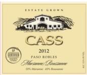 卡斯玛珊-瑚珊白葡萄酒(Cass Marsanne-Roussanne,Paso Robles,USA)