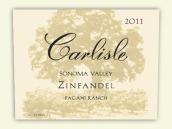 卡尔丽丝帕加尼牧场仙粉黛干红葡萄酒(Carlisle Pagani Ranch Zinfandel, Sonoma Valley, USA)