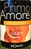 卓林甜美初恋朱丽叶微起泡酒(Zonin Primo Amore Juliet Frizzante, Veneto, Italy)