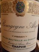 莫里斯·沙皮伊酒庄阿里高特白葡萄酒(Domaine Maurice Chapuis Bourgogne Aligote,Burgundy,France)