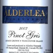 亚德里灰皮诺干白葡萄酒(Alderlea Vineyards Pinot Gris,Vancouver Island,Canada)