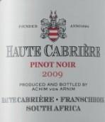 上加布里埃尔黑皮诺干红葡萄酒(Haute Cabriere Pinot Noir, Franschhoek Valley, South Africa)