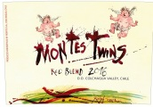 蒙特斯双子混酿干红葡萄酒(Montes Twins Red Blend,Colchagua Valley,Chile)