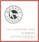 驴子与山羊黑歌海娜干红葡萄酒(A Donkey and Goat Grenache Noir,El Dorado,USA)