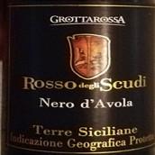 格罗塔罗萨红色盾牌黑珍珠干红葡萄酒(Grottarossa Rosso degli Scudi Nero d'Avola,Terre Siciliane,...)