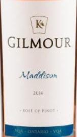 卡罗酒庄吉尔默系列麦迪森桃红葡萄酒(Karlo Estate Gilmour Maddison,Prince Edward County,Canada)