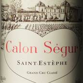 凯隆世家庄园红葡萄酒(Chateau Calon-Segur,Saint-Estephe,France)