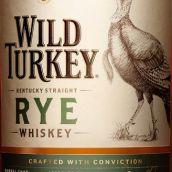 野火鸡81纯黑麦威士忌(Wild Turkey 81 Kentucky Straight Rye Whiskey,Kentucky,USA)
