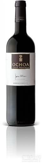 奥乔亚特级珍藏干红葡萄酒(Bodegas Ochoa Tinto Gran Reserva,Navarra,Spain)